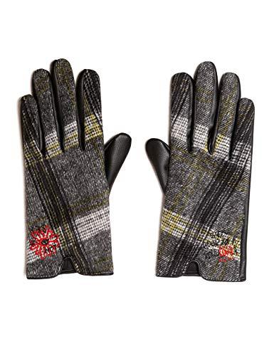 Desigual Gloves Tars Guanti, Bianco (Crudo 1001), Unica (Taglia Produttore: U) Donna