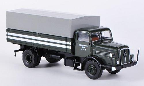 IFA H6 Pritsche, VEB KVK Zittau RP 21-15, PP-LKW , Modellauto, Fertigmodell, Brekina 1:87