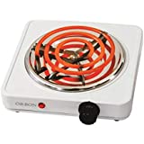 ORBON 1000 Watt With Thermostat G Coil Stove Hot Plate Induction Cooktop/Induction Cookers/Electric Cooking Heater/Induction Radient Cooktop (Made In India)(Huge Diwali Discount & Free Shipping)