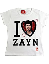 One Direction T-shirt | Fille 1D T-shirt| 5 - 13 ans