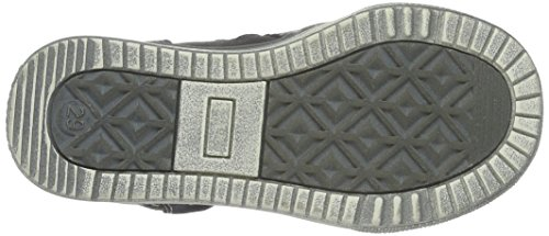 indigo by Clarks Sneaker, Baskets Basses Garçon Gris - Grau (250 Dk. Grey VL)