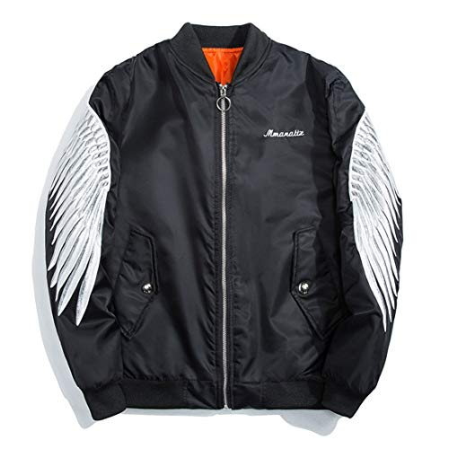 Cai&hong-guo ghc tuta di volo aeronautica militare da uomo di marca giacca casual, a, xl