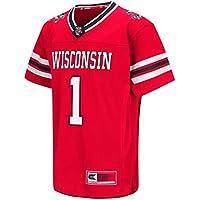 """Wisconsin Badgers NCAA """"Hail Mary Pass"""" Youth Kinder Football Jersey Trikot"""