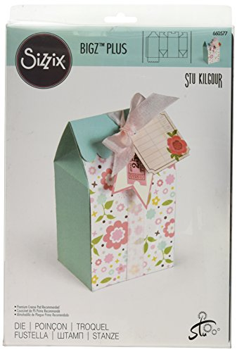 Sizzix Bigz Plus Dies-Tall Bag W/Scallop Flap