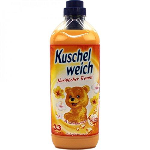 6er Vorratspack Kuschelweich Weichspüler 990ml Karibischer Traum (6*990ml)
