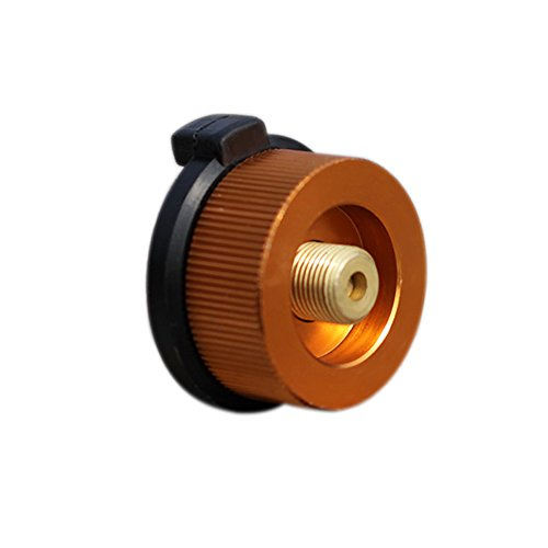MongKok - Adaptador de aleación de Aluminio para conexión de Gas butano...