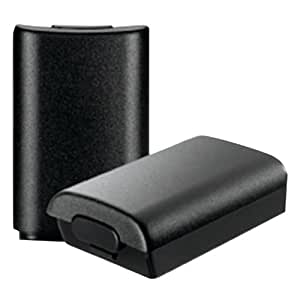 Official Microsoft Xbox 360 Rechargable Battery Pack (Black) 2 Pack