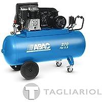 ABAC PRO B5900B 270 CT5,5 COMPRESSORE 270L MOTORE TRIFASE 5,5HP CON TRASMISSIONE A CINGHIA BISTADIO