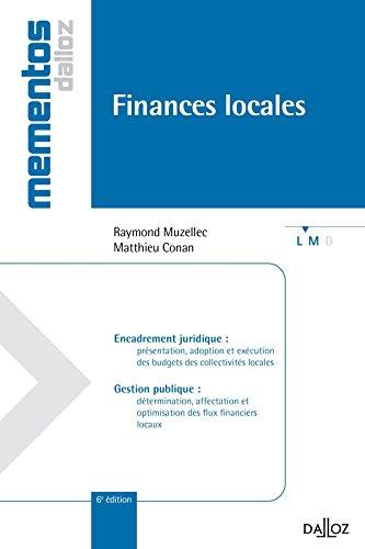 Finances locales - 6e éd.: Mémentos