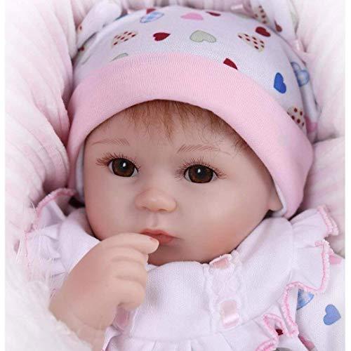 """Muñecas de la Vida Real 17 """" Vinilo de Silicona Reborn 42cm Lifelike Recién Nacido Bebé Regalo de Juguete Baby Dolls"""