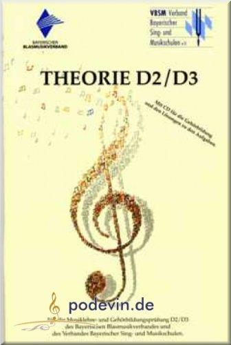 Theorie D2/D3 - Theorie- und Gehörbildungslehrgang