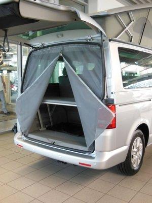 Insektenschutzvorhang VW T5 (Heck)