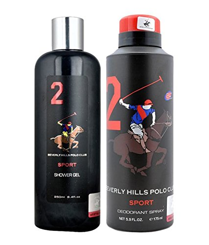 beverly hills polo club gift set 2 for men (deodorant and body wash) Beverly Hills Polo Club Gift Set 2 for Men (Deodorant and Body Wash) 41kWNmeMTsL