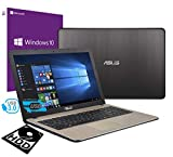Asus Vivobook Ordinateur portable PC Écran de 15,6' en polyuréthane Intel i3-7020U 2,3 GHz /RAM 4 Go DDR4 /HD 500 Go /HD Graphics 620 /Hdmi Graveur Wifi Bluetooth /Windows 10 Professional
