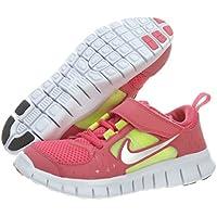 Nike Free Run 3 (Preschool) - Spark / Reflect Silver-White-Volt,