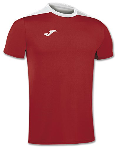 Joma Volleyball/Herr Trikots Camiseta Spike Rojo-Blanco M/C 100474.602 Rot L