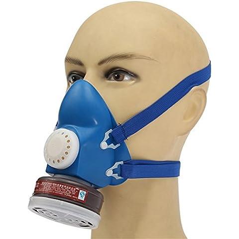 Yongse Autoadescante Filtro a cartuccia mezza gas organico del vapore maschera respiratoria serbatoio singolo - Singole Organico