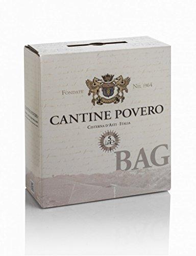 Bag in box 5 lt. cantine povero - vino bianco da uve arneis