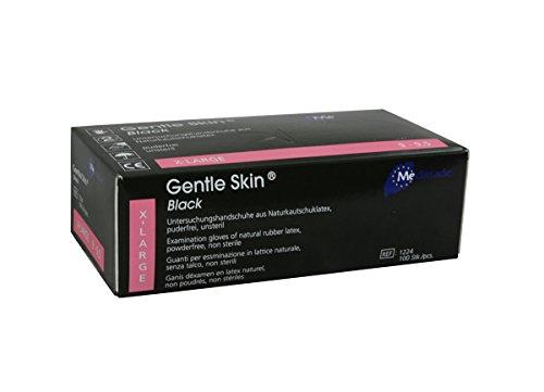 Meditrade 1224XL Gentle Skin Black, 1er Pack (1 x 100 Stück) -