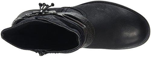 Jana 25412, Stivali da Motociclista Donna Nero (Black 001)