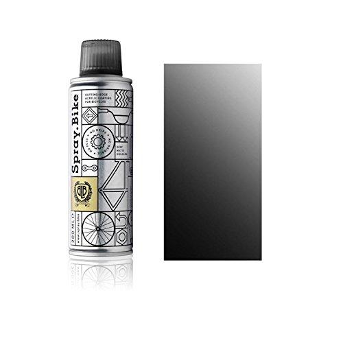 Fahrrad Lackspray Pocket Clear - halb-transparenter Farblack mit Klarlack Optik für eine Glanz-Lasur, Überblendung oder Schattierung - praktische 200ml Spraydose (Schwarz