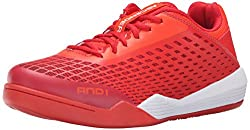 AND 1 Men s Ascender Low Basketball Shoe Cherry Tomato/Fiery Red/Bright White 10.5 D(M) US