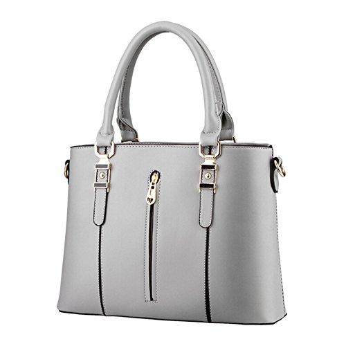 NiaNia ,  Damen Tasche Grau