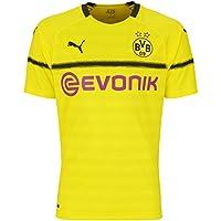 Puma Herren BVB Cup Shirt Replica with Evonik Logo Without