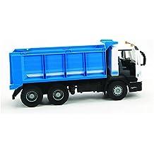 Big Works - Camión de Carga con volquete Iveco, Color Azul (Tomy ...