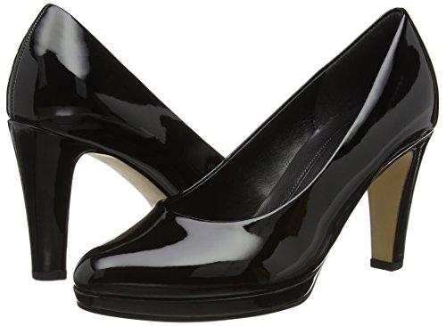Gabor  Splendid,  Damen Pumps , Schwarz - Black (Black Patent Ht) - Größe: EU 35.5 (UK 3) -