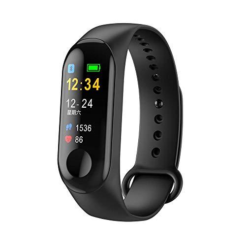 indigi M3 Fitness-Tracker und Smartwatch - Fernbenachrichtigungen - Herzfrequenz - Blutdruck - Schrittzähler - Sport Activity Monitor