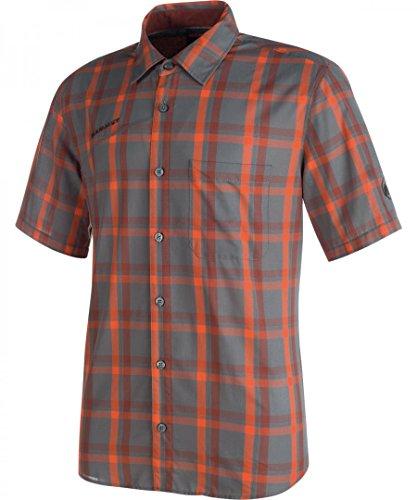 Mammut Herren Kurzarm Shirt Pacific Crest titanium-dark orange