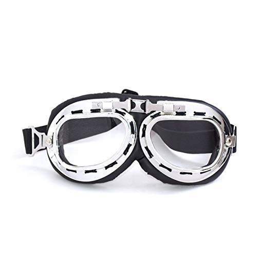 MaxAst Sportbrille Outdoor Motorradbrille Herren Damen Arbeitsbrille Schutzbrille Klar
