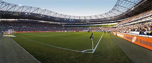 Hannover Stadion Eckfahne Panorama – Poster 120 x 50 cm – hochwertiger FineArtPrint