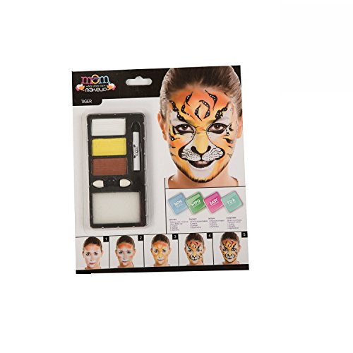 My Other Me Me-207092 Kit Maquillaje Adulto Tigre