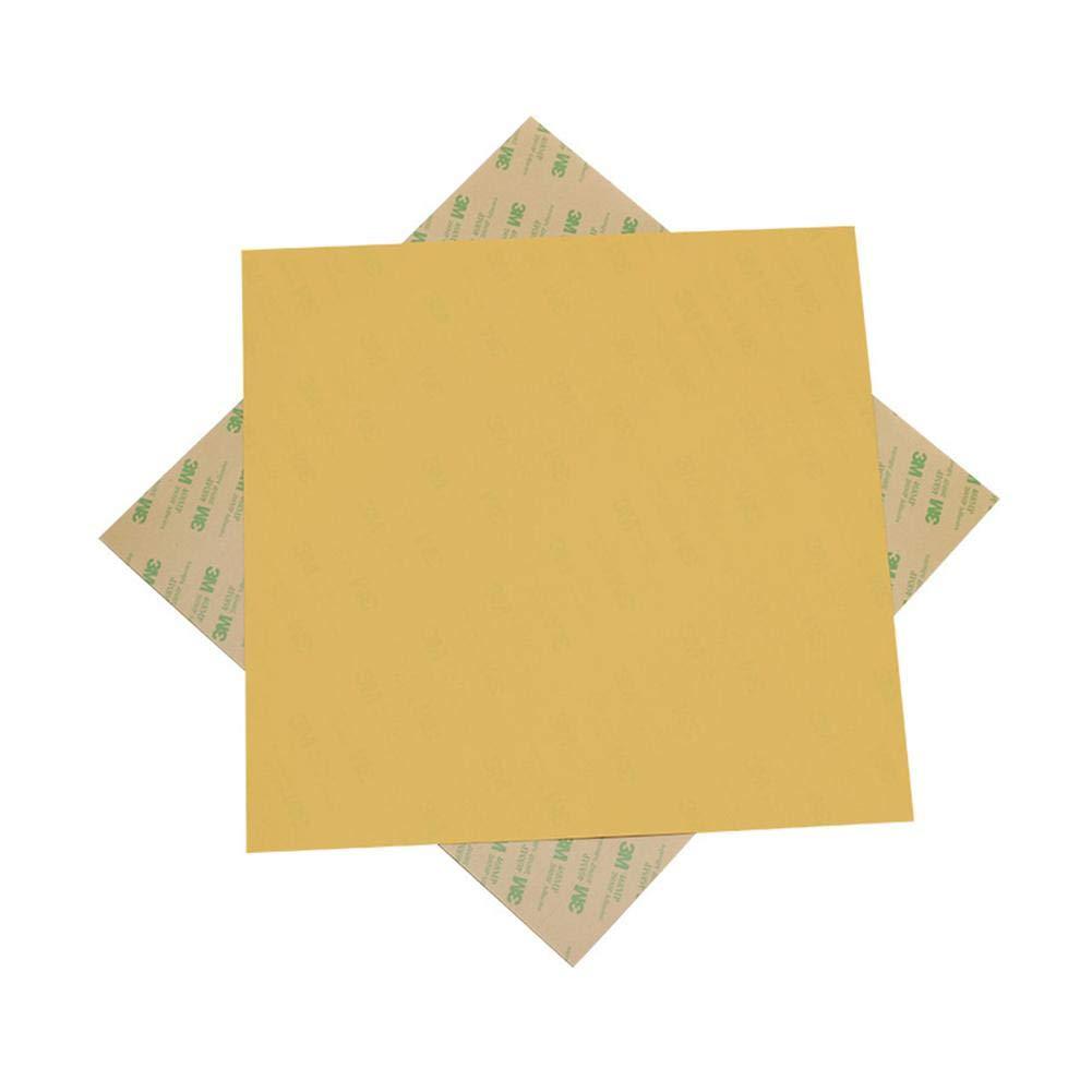Alian Panneaux froids de Lit chaud Accessoires de l'Imprimante 300 * 300 * 0.3mmPEI pour CR10, Cr-10 S3, Lulzbot Taz, Tevo Tornado, Hictop