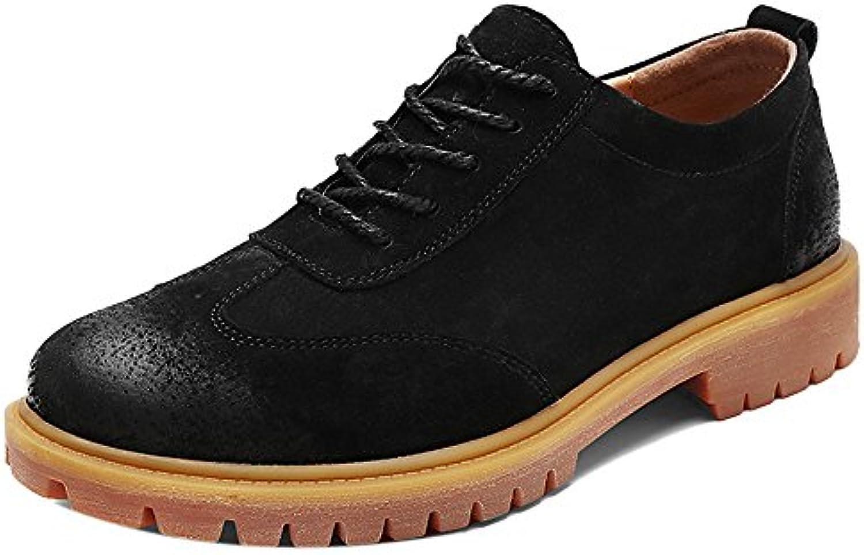 COOLCEPT Hombre Casual Botines Chukka Zapatos de Invierno
