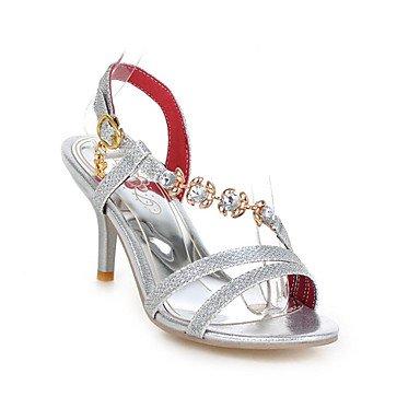 Zormey Damen Sandalen Sommer Club Schuhe Glitter Kundenspezifischen Materialien Hochzeit Party & Amp Abendkleid Stiletto Heel Strass Schnalle US12.5 / EU45 / UK10.5 / CN47