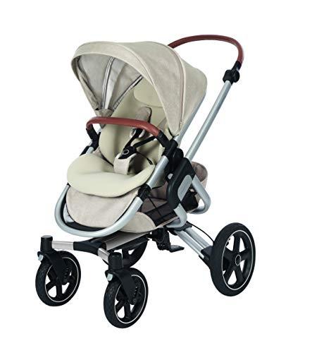 Bébé confort nova passeggino fronte retro reversibile, compatto, 4 ruote ammortizzate, nomad sand