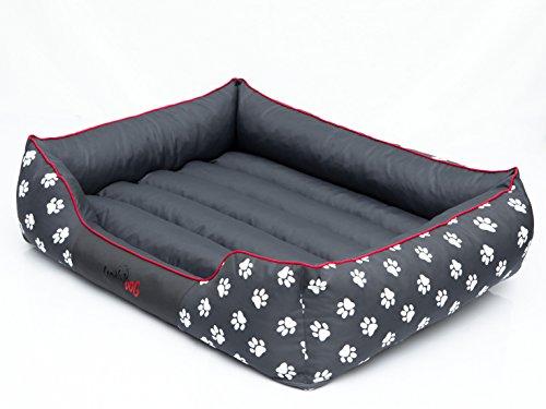 hobbydog-prelsz2-hundebett-hundesofa-hundekorb-tierbett-prestige-grosse-xxl-108-x-88-cm-grau-mit-pfo