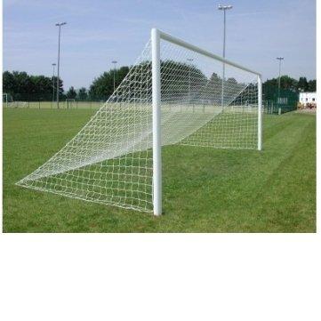 24' Single (souked 24ft x 8ft voller Größe Senior gerader Rücken Fußball Goal Post Net)
