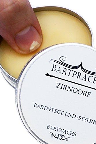 Bartpracht Wachs Zirndorf für Bart-Styling und Bartpflege, Naturprodukt Abbildung 3