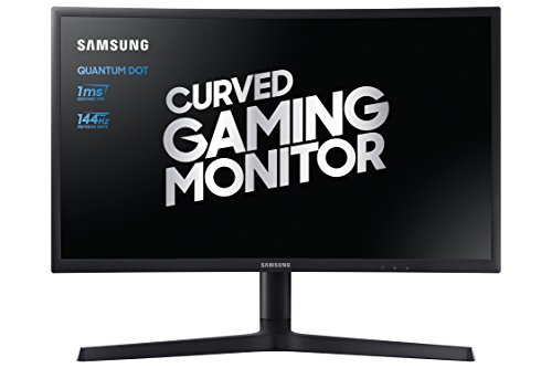 Samsung LC24FG73FQUXEN 24-Inch FHD 1920 x 1080 Curved Gaming Monitor - Dark Blue/Black Matt