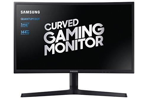 Samsung LC27FG73FQUXEN 27-Inch FHD 1920x 1080 Curved Gaming Monitor - Dark Blue/Black Matt