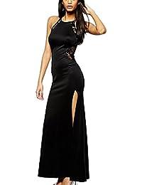 Amazon.it  vestiti donna eleganti da sera lunghi - Vestiti   Donna   Abbigliamento 730cafad993