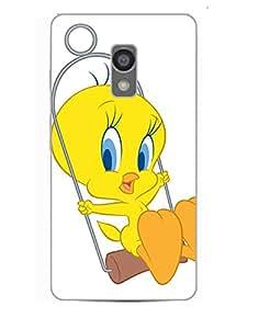 Happoz Designer Cute Cartoon Disney Hard Back Case for Lenovo Vibe P1m D147