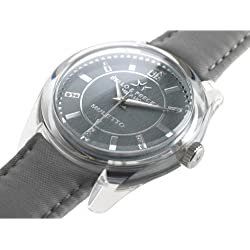 Bello & Preciso italienische Armbanduhr Modell Muletto Piombo