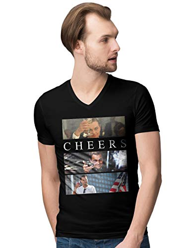 Leonardo Cheers Herren V-Neck T-Shirt M - Catch V-neck T-shirt