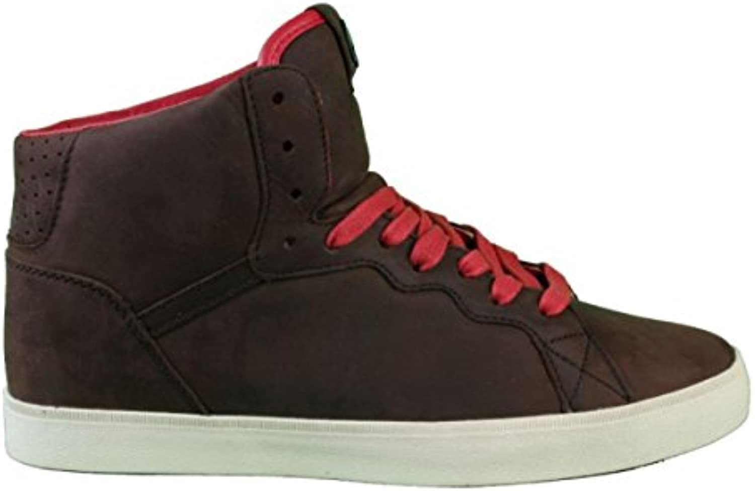 Osiris Skate shoes -- Ground High-- Brown/Red/Cream  -
