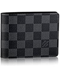 Louis Vuitton - Billetera múltiple Damier Graphite Canvas N62663